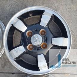 Cerchio in Lega Usato da 13 pollici per Hyundai  I10 - Lotto C-1442