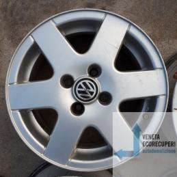 Cerchio in Lega Usato da 14 pollici per Volkswagen  Polo - Lotto C-1449