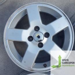 Cerchio in Lega Usato da 15 pollici per Chevrolet  Aveo - Lotto C-1519