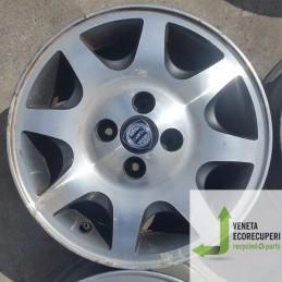 Cerchio in Lega Usato da 14 pollici per Lancia Y - Lotto C-1387
