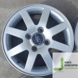 Cerchio in Lega Usato da 14 pollici per Ford Fiesta - Lotto C-1384