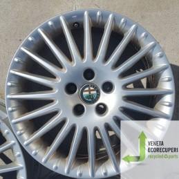 Cerchio in Lega Usato da 17 pollici per Alfa 156 - Lotto C-1516
