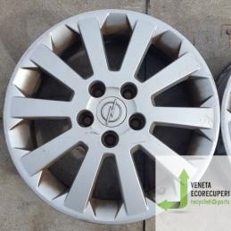 Cerchio in Lega Usato da 16 pollici per Opel Astra h - Lotto C-1396