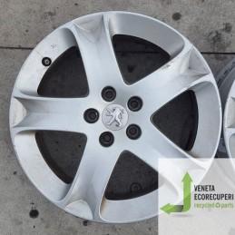 Cerchio in Lega Usato da 17 pollici per Peugeot  307 - Lotto C-1472