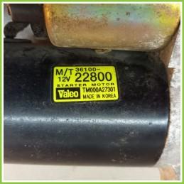Motorino Avviamento VALEO 12V HYUNDAI Getz 2002 TM000A27301 Usato