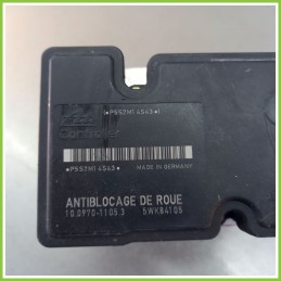Centralina Pompa Aggregato ABS Usato Ate 10.09701105.3 Peugeot 206 10.0207-0002.4