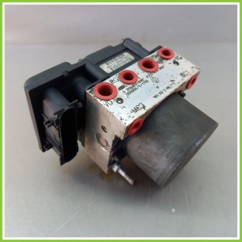 Centralina Pompa Aggregato ABS Usato Bosch 0265800411 Renault Clio 3A Serie 0265231516