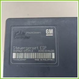 Centralina Pompa Aggregato ABS Usato Ate 10.09600539.3 Opel Astra A04