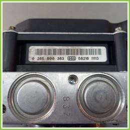 Centralina Pompa Aggregato ABS Usato Bosch 0265800363 Volkswagen Polo 9N 0265231426
