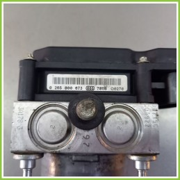 Centralina Pompa Aggregato ABS Usato Bosch 0265800673 Fiat Panda 2Q 0265232021