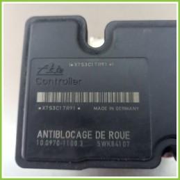 Centralina Pompa Aggregato ABS Usato Ate 10.09701108.3 Citroen C3 1A Serie 10.0207-0011.4