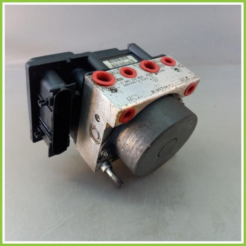 Centralina Pompa Aggregato ABS Usato Bosch 0265800559 Renault Clio 3A Serie 0265231804