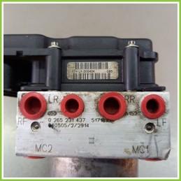 Centralina Pompa Aggregato ABS Usato Bosch 0265800368 Fiat Stilo 2V 0265231437