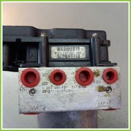 Centralina Pompa Aggregato ABS Usato Bosch 0265800369 Fiat Stilo 2V 0265261437