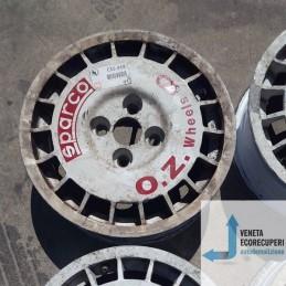 Cerchio in Lega Usato da 14 pollici per Renault Clio 1a OZ SPARCO