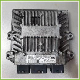 Centralina Motore Iniezione ECU SIEMENS 5WS40433A-T FORD FIESTA CBK 1.4 TDCI 7S61-12A650-AA Diesel 2005 2008