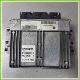 Centralina Motore Iniezione ECU SAGEM 21646433-5 RENAULT CLIO 2a Serie 1.2 8200153840 Benzina 2001 2010