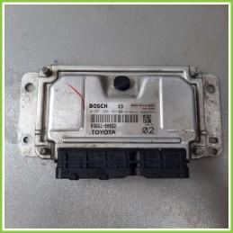 Centralina Motore Iniezione ECU BOSCH 0261208702 TOYOTA AYGO 1a Serie 1.0 12V VVT-I 89661-0H022 Benzina 2005
