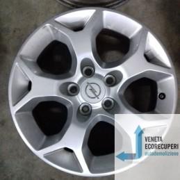 Cerchio in Lega Usato da 16 pollici per Opel Astra h / astra gtc