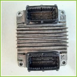 Centralina Motore Iniezione ECU DELPHI DZLU OPEL ZAFIRA T98 1.6 16V 55354782 Benzina-Metano 1999 2005